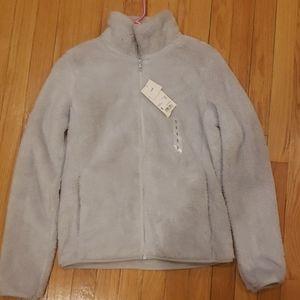 Uniqlo fluffy yarn jacket